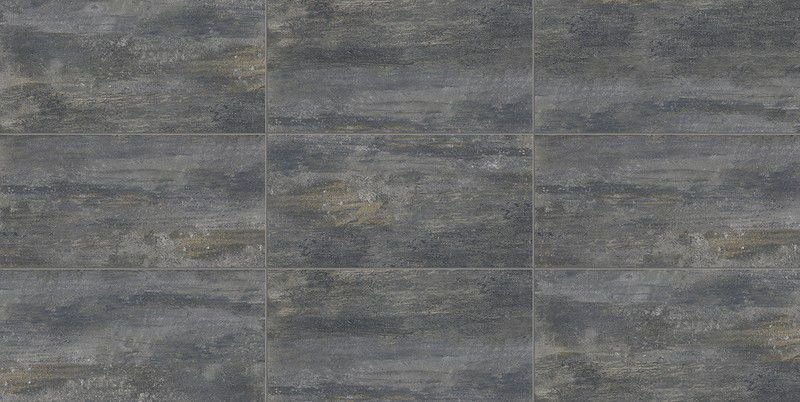 Porcelanato 50X100 Polido Rusty Gray Retificado Extra MT V3 6 Faces Cx-2M2 Delta