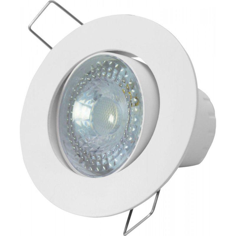 Spot LED SP25 Embutir Redondo 5W 3000K 100/240V Taschibra