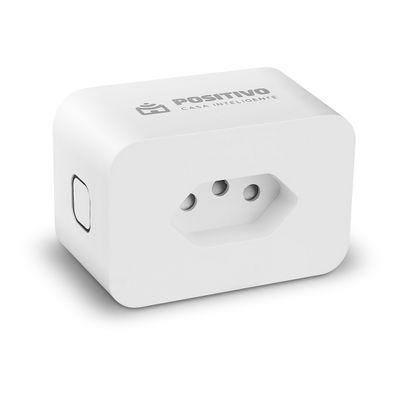 Tomada Smart Plug Max Wi-Fi 16A Bivolt Positivo Casa Inteligente
