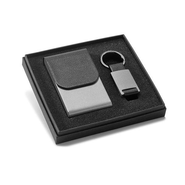 KITPC001 - Kit porta cartão e chaveiro