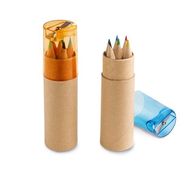 LAP001 - Lápis de cor  - k3brindes.com.br