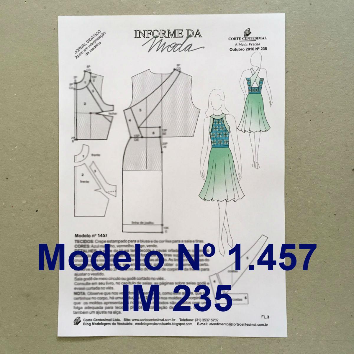 Informe da Moda 2016 (234 e 235)  - Corte Centesimal