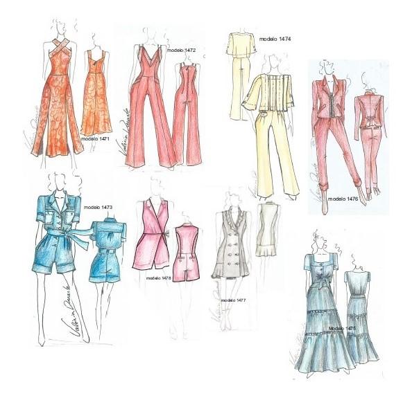 Biblioteca Digital do Informe da Moda, assinatura de 3 anos  - Corte Centesimal