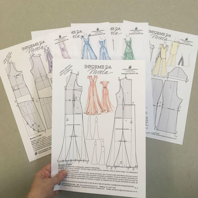 Informe da Moda 238 - Dezembro 2019  - Corte Centesimal
