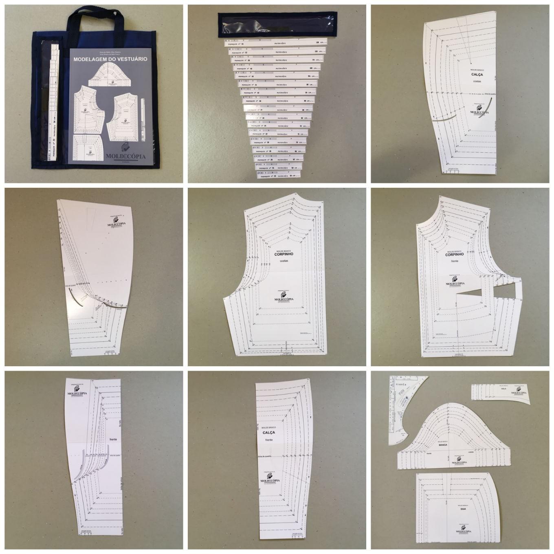 Sistema Moldecópia 10 kits  - Corte Centesimal