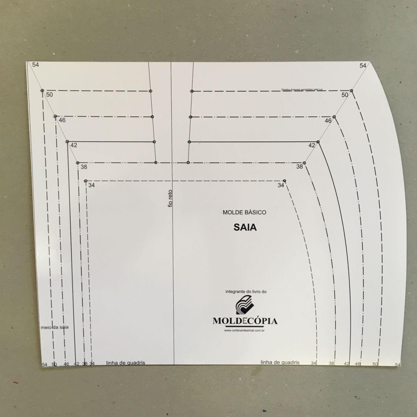 Sistema Moldecópia  - Corte Centesimal