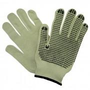Luva de Segurança tricotada em fios de algodão e poliéster com pigmentos em PVC Super Safety CA 33.529