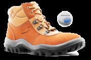Botina Ocupacional Miura 4855GL/CF/NB Cor Caramelo SafetLine CA 12783
