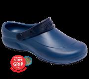 Calçado Ocupacional Soft Works Ref. BB60 Cor Azul Marinho Tipo Babuche/Tamanco CA 27921