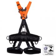 Cinturão Paraquedista MULT2012A Com 5 pontos De Ancoragem MG Cintos CA 35531