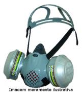 MÁSCARA SEMI FACIAL ABSOLUTE AIR SAFETY - SEM FILTROS INCLUÍDOS CA 32351 - NCM 9020.00.10