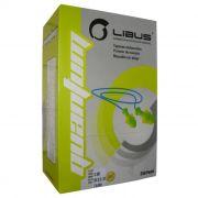 Protetor Auditivo Plug Inserção Pré-moldado c/ Cordão 17 dB NRRsf  Libus - CA 35981