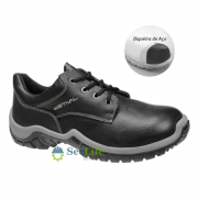 Sapato de Segurança WO1004 2S1 Com Bico Aço Em Couro Curtido ao Cromo Estival  CA 28141