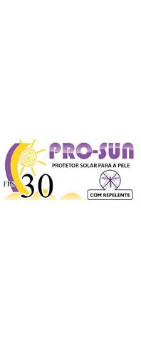 Protetor Solar PROSUN FPS 30 Com Repelente. Embalagem de 120 g - Cosmoderma - ANVISA nº 251160006