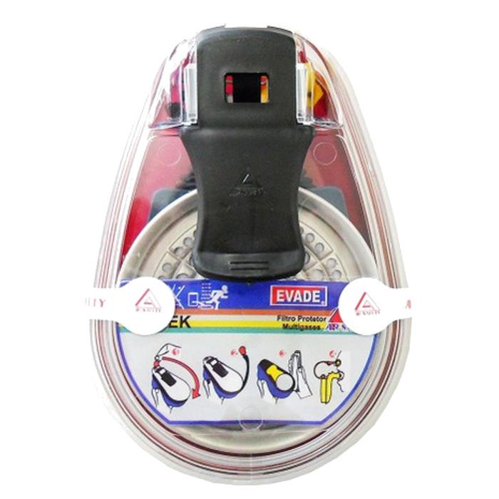 KIT De Reparo Para Máscara de Fuga II Linha EVADE Com Filtro ABEK CA 5821 - Air Safety