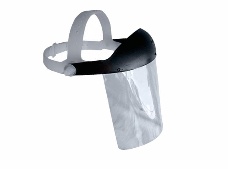 Protetor Facial Incolor em Policarbonato Plastcor CA 15019