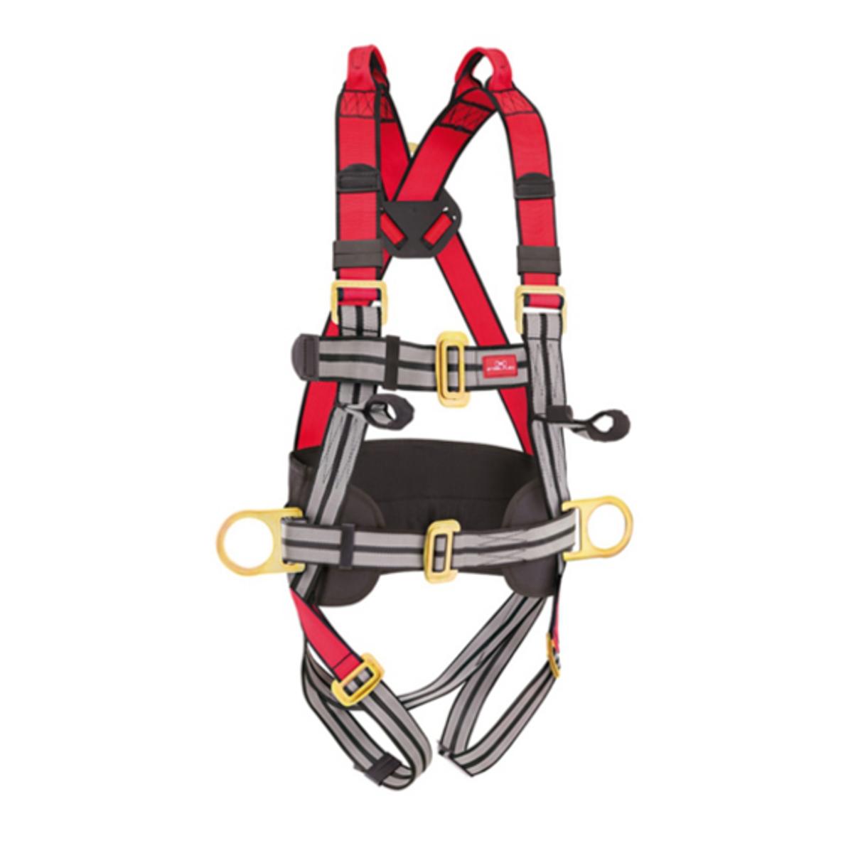 Cinturão de Segurança STF-CQCT4121 com 4 Pontos de Ancoragem STEELFLEX CA 35125