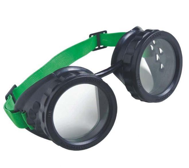 Óculos de Segurança Para Maçariqueiro Redondo Sem Lente Carbografite CA 3135
