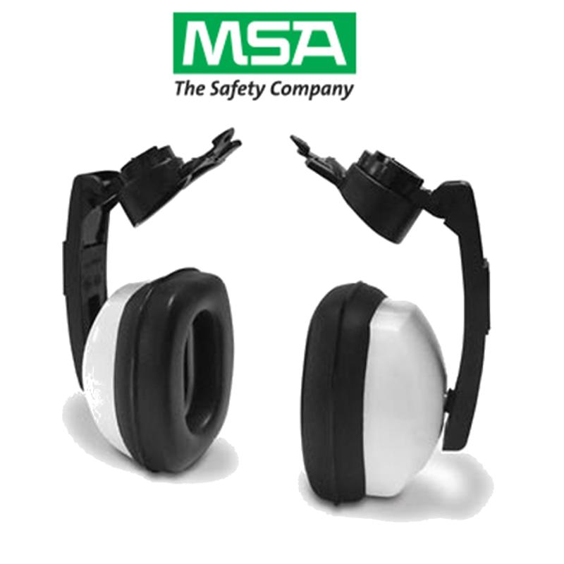 Protetor Auricular MSA MARK - V Green Tipo Concha Acoplado Para o Capacete CA 28089