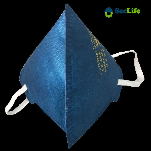 Respirador de Ar PFF2(S) MASKFACE Sem Válvula com filtro de Carvão Ativado Air Safety CA 38955