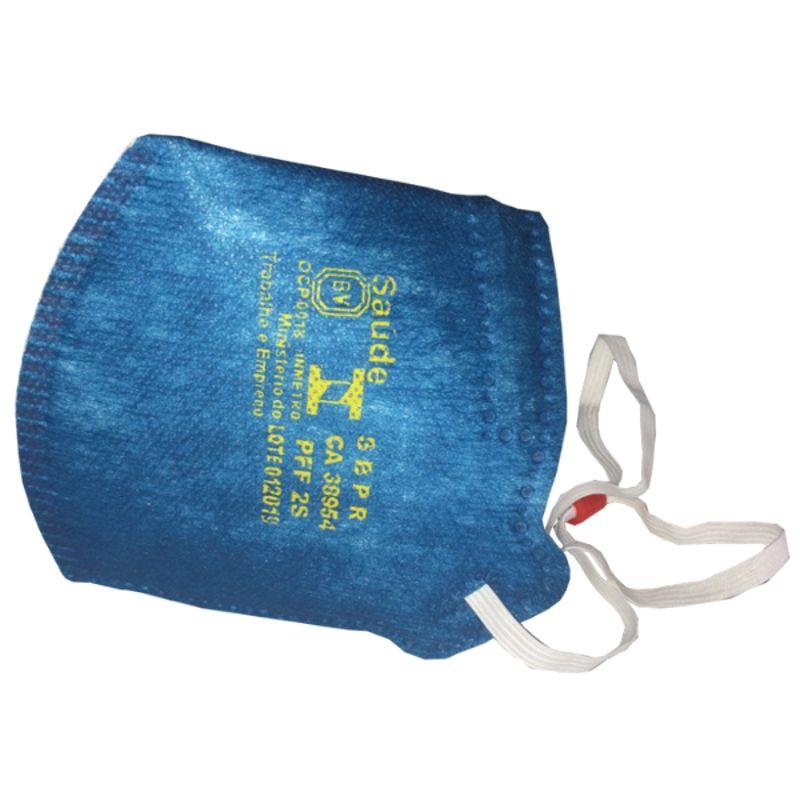 Respirador de Ar PFF2(S) MASKFACE Com Válvula Air Safety CA 38954