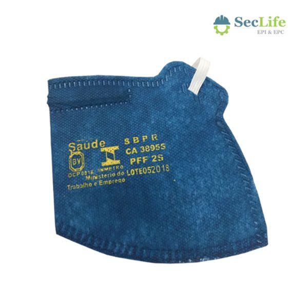 Respirador de Ar PFF2(S) MASKFACE Sem Válvula Air Safety CA 38950