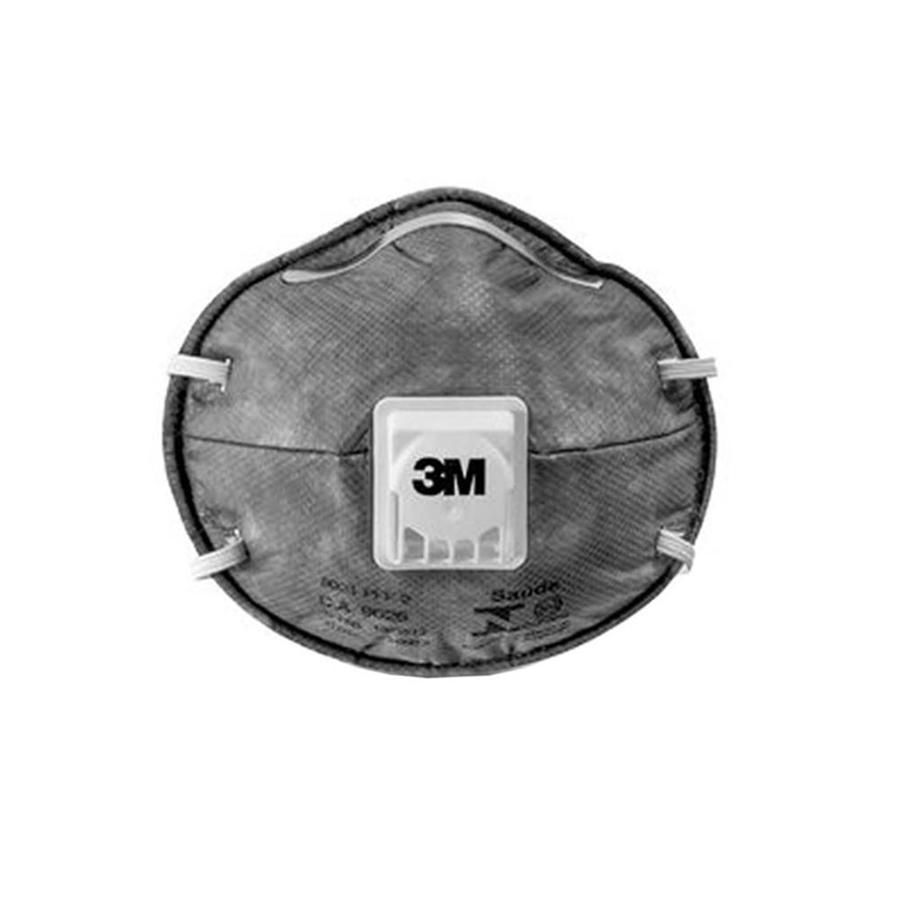 Respirador de Ar 3M 8023 PFF2(S) Semi Facial Tipo Concha Com Válvula CA 9626