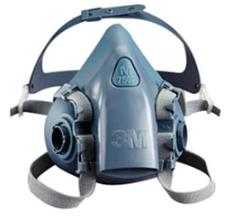 Respirador Semi Facial Modelo 7500 3M CA 12011