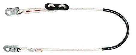 Talabarte MULT 1880 Posicionamento em corda com regulagem de distância polímero MG CINTOS