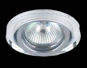 Spot Dicroica GU10 Embutir Cristal YD133  - OUTLED ILUMINAÇÃO