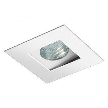 Spot Dicroica GU10 Embutir Recuado Quadrado Branco BL1221/1  - OUTLED ILUMINAÇÃO