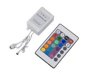 Controle Remoto para Fita Led 5050 RGB 72w  - OUTLED ILUMINAÇÃO