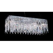 Lustre 11 Lampada G9 Pendente Plafon HU2161 Cromado