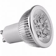 Lampada 5w 6000k LED Dicroica MR16 GU10 Bivolt Branco Frio