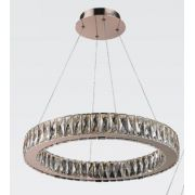 Lustre 60cm 32w LED 3000k Pendente WE001B Cobre