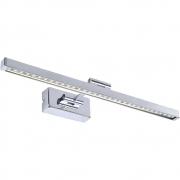 Arandela Blum Metal 8w LED 3000k Branco Quente 45X17X5CM JH502 Cromado