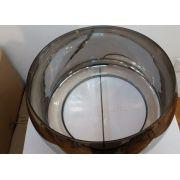 VIDRO DE REPOSICAO VDPD001CR CROMADO CUPULA 50cm