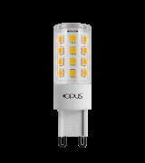 Kit 6 Lampada LED G9 3w 2700k Branco Quente DIMERIZAVEL 127v LP30456