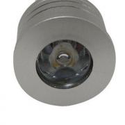 Lampada 1W 6000K LED MINI DICROICA GU10 Branco Frio