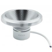 Lampada AR111 10w LED 2700k Branco Quente COB Bivolt Eco 32672