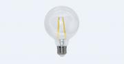 Lampada Led 4w 2700k Branco Quente G95 Filamento E27 Bivolt LP34829