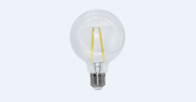 Lâmpada Led 4w 2700k Branco Quente G95 Filamento E27 Bivolt LP34829