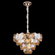 Lustre de cristal Cristalle 45cm Champagne 140140027 G9 Bivolt