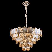 Lustre de Cristal Cristalle 55cm Champagne 140140030 G9 Bivolt