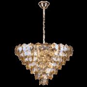 Lustre de cristal Cristalle 80cm Chanpagne 140140033 G9 Bivolt