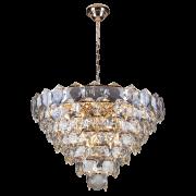 Lustre de cristal Cristalle 80cm Transparente 140140032 G9 Bivolt