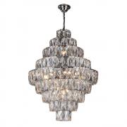 Lustre de cristal Fasano Belle 80cm G9 Cromado 140140008 Bivolt