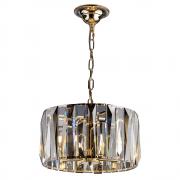 Lustre de cristal Filadelfia Dourado 140140042 G9 Bivolt