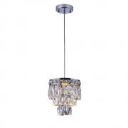 Lustre de cristal Florença Mini Cromado 140140020 G9 Bivolt