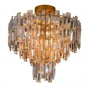 Lustre de cristal Montaggio Dourado 140140055 E14 Bivolt